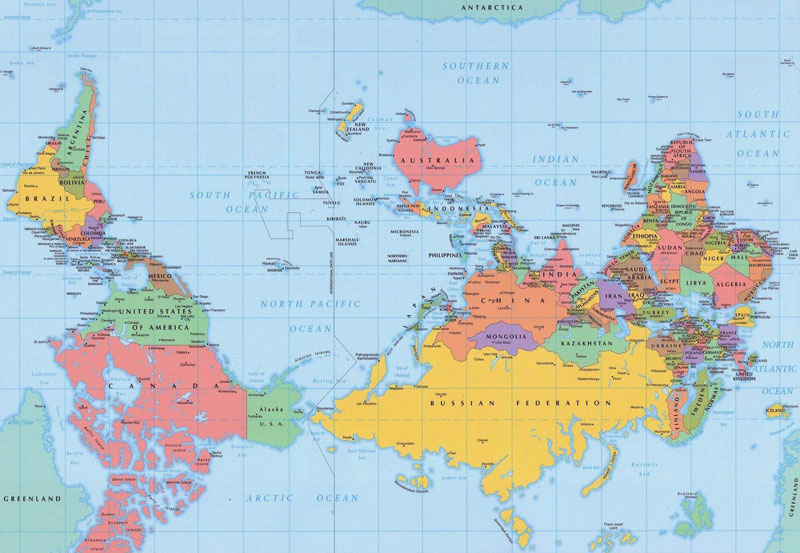 Australian Perspective of the World